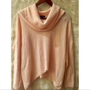 ✨EXPRESS soft pink cowl neck sweater✨